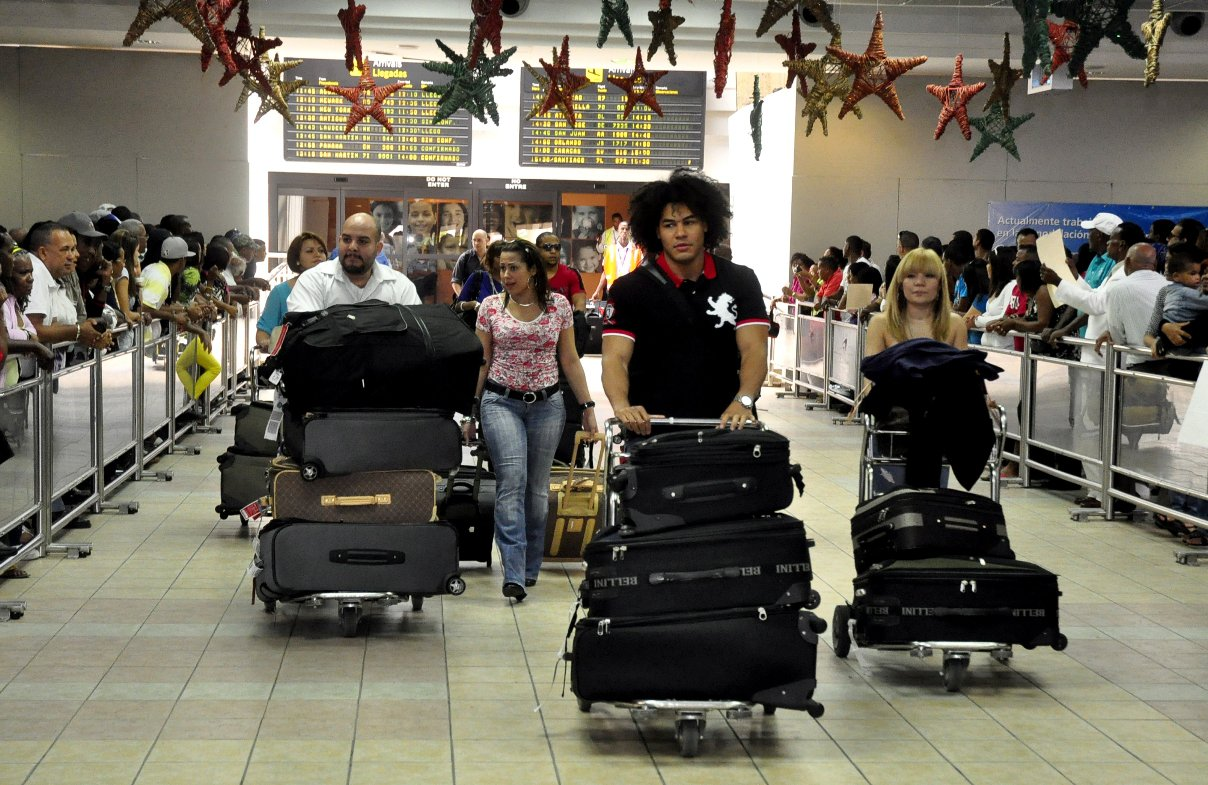 Arrivée Aéroport International Las Americas