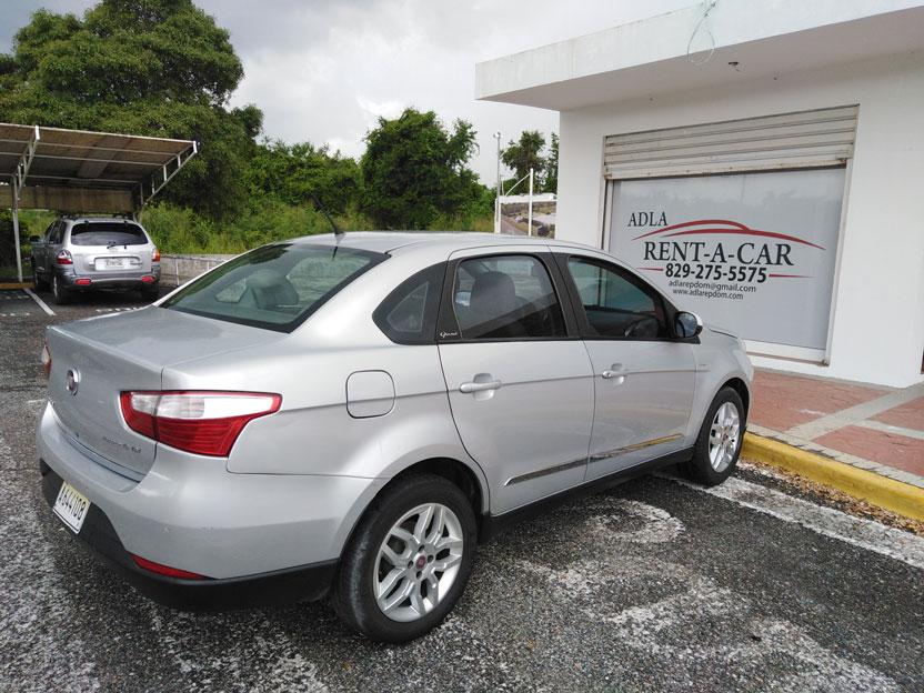 Location de voiture Fiat Sienna