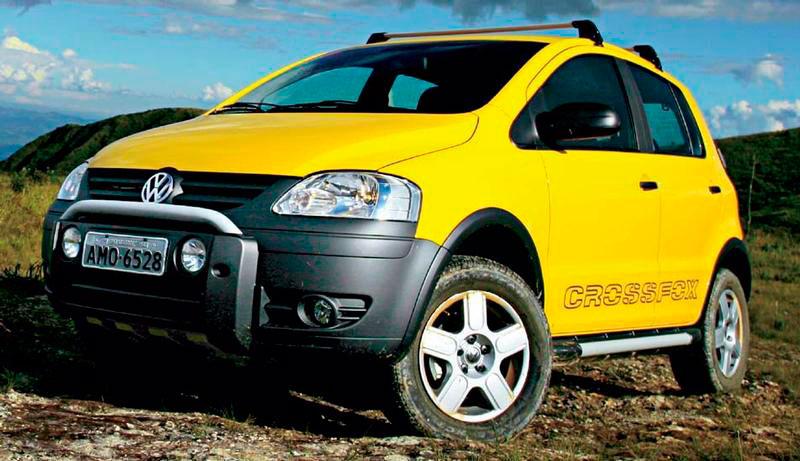 Location de voiture Volkswagen Crossfox